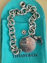 Tiffany & Co round tag bracelet in Camp Pendleton, California