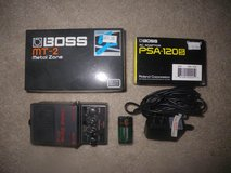 Boss MT2 Metal Zone Distortion Pedal w/ Charger in Oceanside, California