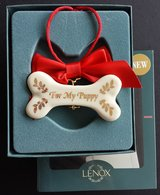 "CLEARANCE Lenox ""For My Puppy"" Christmas Ornament NIB in Aurora, Illinois"